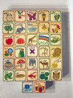 klocki drewniane dla małych dzieci
